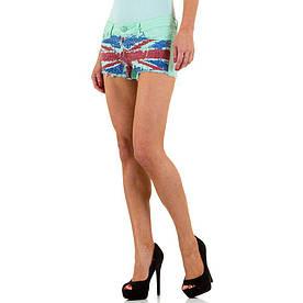 Женские шорты Simply Chic, размер M/38 - Грин - KL-J-Q1469-5-green M/38