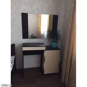 Туалетный стол Наяда с зеркалом Мастер Форм