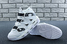 Мужские кроссовки в стиле Off White x Nike Air More Uptempo (40, 41, 42, 43, 44, 45 размеры), фото 3