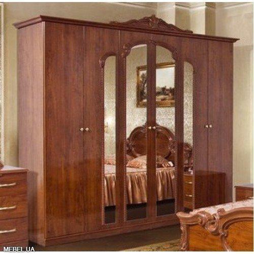 Шкаф 6Д Империя Світ Меблів