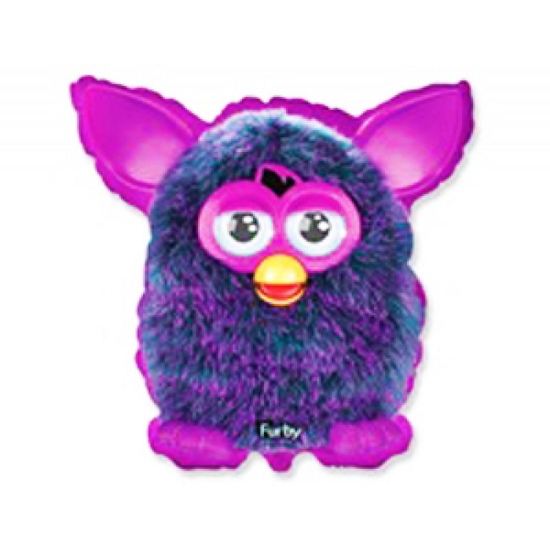 """Фольгированный шар Фарби Фиолетовый, Flexmetal (Испания), 21""""/55 см x 23""""/59 см"""