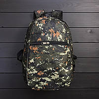 Стильный городской/спортивный рюкзак камуфляжный/пиксель/хаки/милитари