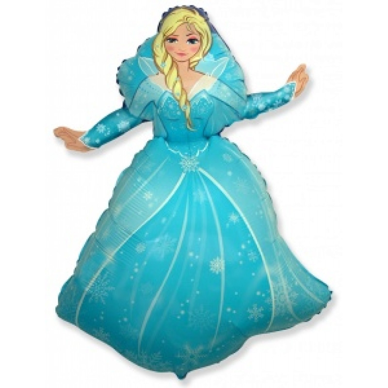 Фольгированный шар Принцесса Эльза
