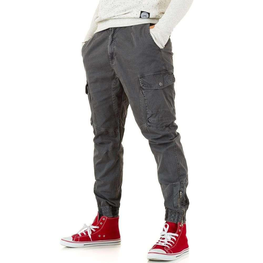Мужские брюки от Y. Two Jeans - D. gray - KL-H-R066-D. gray
