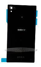 Задняя панель корпуса  Sony C6902 L39h Xperia Z1, C6903 Xperia Z1, черная
