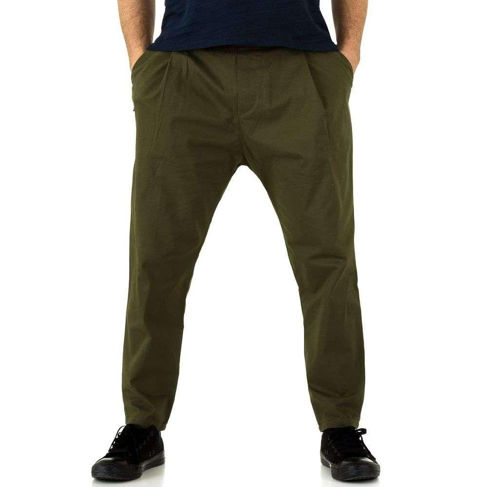 Мужские брюки от Y. Two Jeans - Army Green - KL-H-K032-Army Green