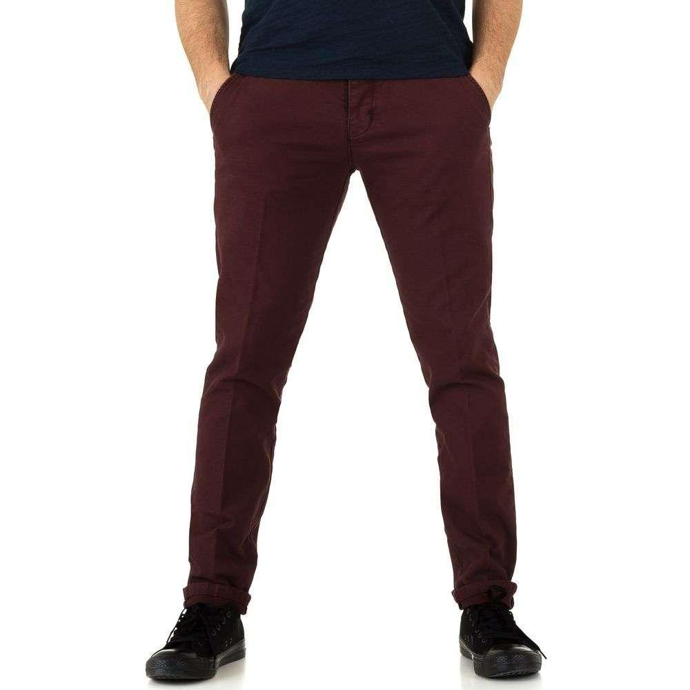 Мужские брюки от Y. Two Jeans - winered - KL-H-J2760-winered