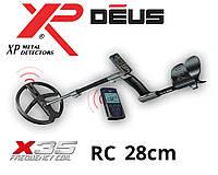 Металлоискатель XP DEUS 28 RC (X35)  с обновленной катушкой 28 см, фото 1