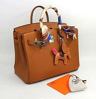 Сумка кожаная женская брендовая, цвет в ассортименте
