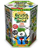 """Набор для креативного творчества """"Grass monsters head"""", травянчик"""