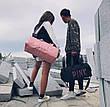Сумка спортивная Pink с отсеком для обуви, фото 3
