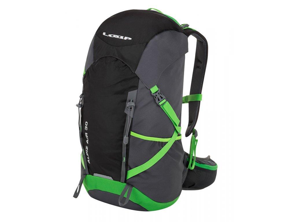 Рюкзак туристичний LOAP ALPIZ AIR 30L black/green
