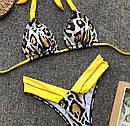 Купальник раздельный с вставками из плотного бифлекса, фото 9