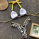 Купальник раздельный с вставками из плотного бифлекса, фото 10