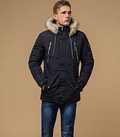 Зимняя куртка с меховым капюшоном, фото 1