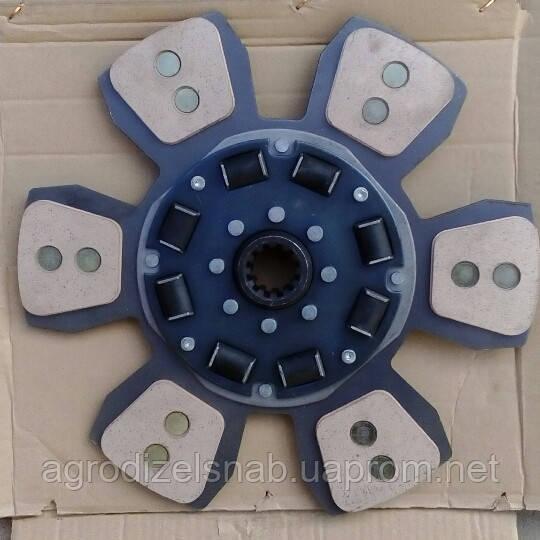 Диск сцепления МТЗ-2022 ведомый 2022-1601130 (лепестковый с металло-керамическими вставками)