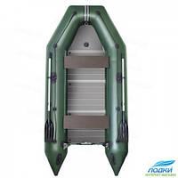 Надувная лодка Kolibri KM-300D моторная алюминиевый пайол