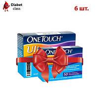 Тест-полоски OneTouch Ultra №50 (6 упаковок)