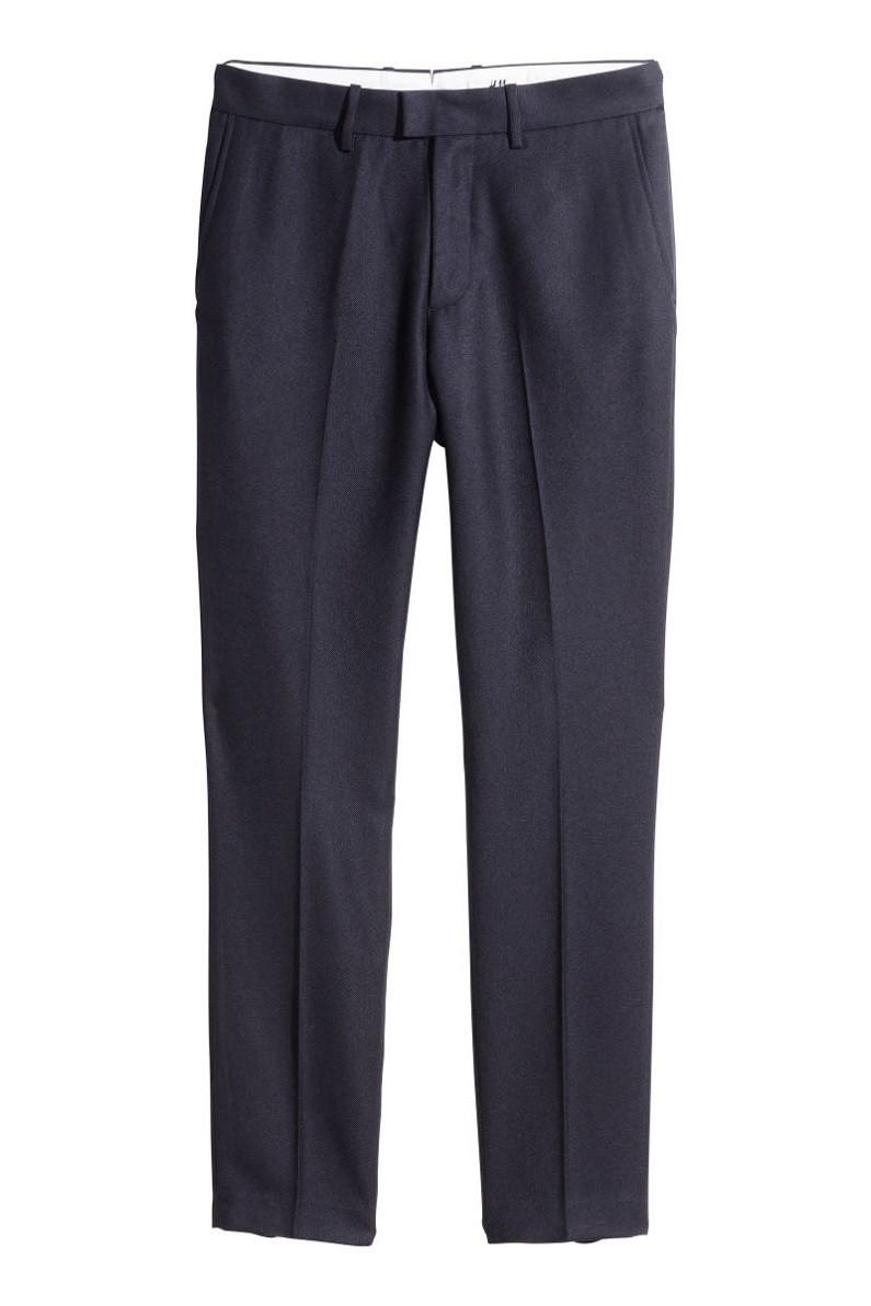 Брюки H&M Twill Suit Pants 36