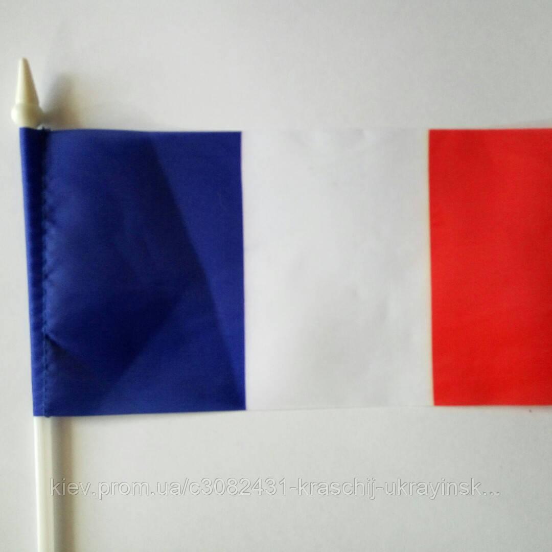 Прапорець.Франція. 10*20см.продаж від 1 штуки.