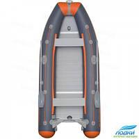 Надувная лодка Kolibri KM-360DSL моторная фанерный пайол