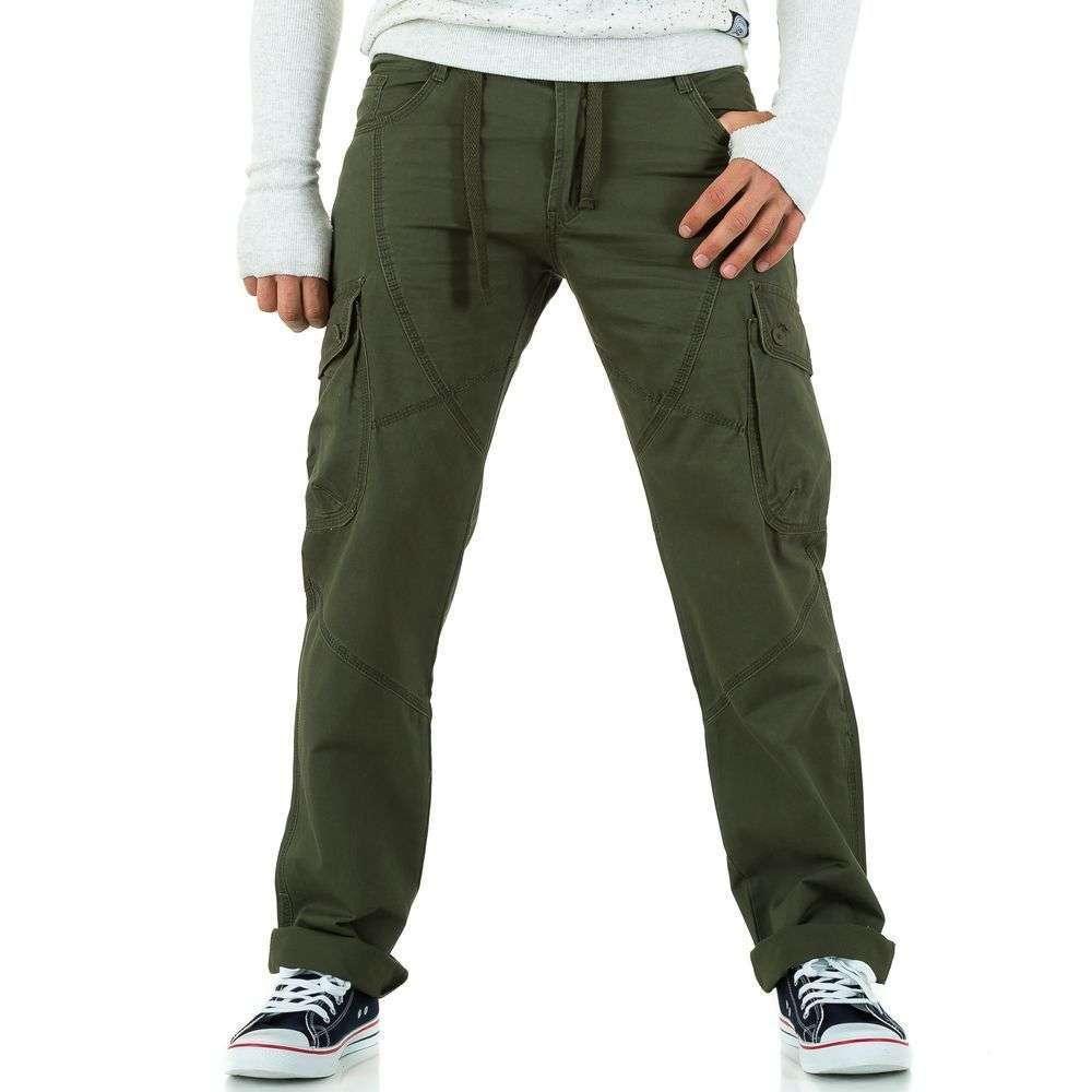 Мужские брюки от Baidicity дизайна green - KL-H-3105-зеленый