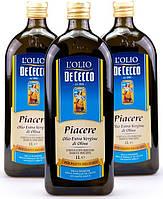 Оливковое масло Де Чекко DE CECCO PIACERE OLIO EXTRA VERGINE 1L