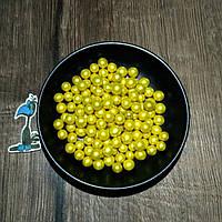 Кондитерская посыпка сахарные шарики Золотые (7 мм)  - 50 грамм