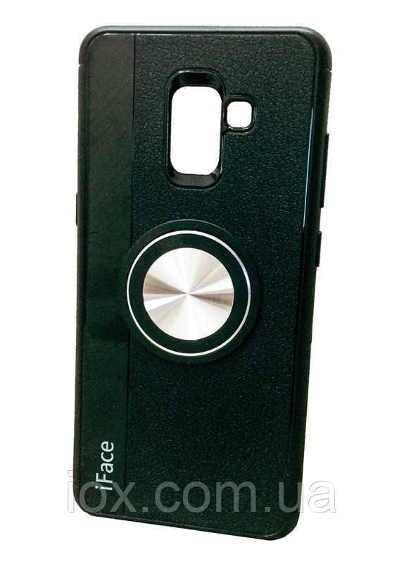 Силиконовый чехол-накладка iFace с магнитом для автодержателя для Samsung Galaxy A8+(2018)/A730