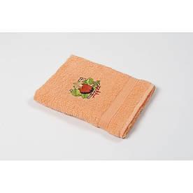Полотенце кухонное Lotus Sun - Apple оранжевый 40*70