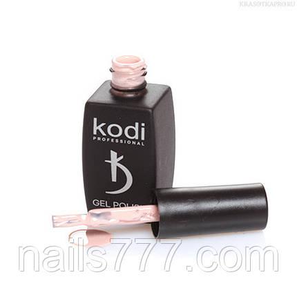 Гель лак Kodi  №30M,  сливочно-бежевый, фото 2