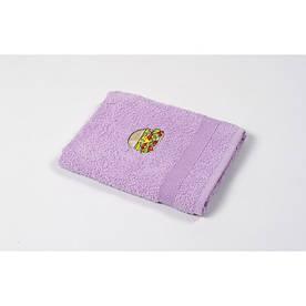 Полотенце кухонное Lotus Sun - Burger лиловый 40*70