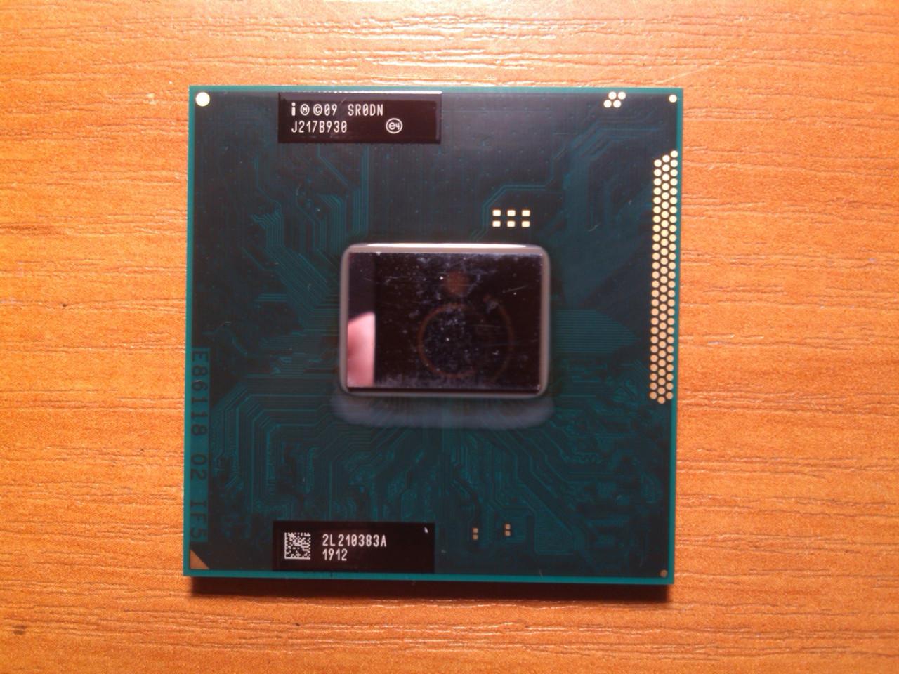 Intel Core i3-2350M SR0DN сокет G2 Гарантия!