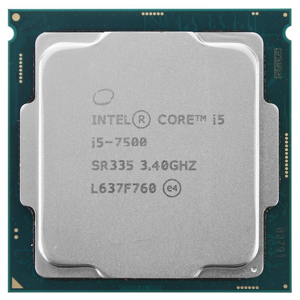 Купить Процессор Intel Core i5-7500 3.40GHz (SR335) s1151, tray