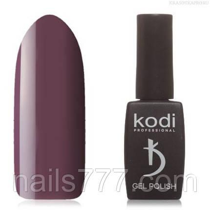Гель лак Kodi  №40V, коричнево-сливовый, фото 2