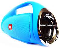 JBL Boombox MINI Bluetooth стерео колонка c USB и MicroSD голубые Blue
