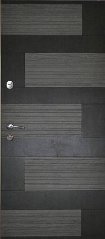 Двері квартирні, модель 167 Комфорт 970*2050, коробка 110мм, KALE, 3контура ущільнення, фото 2