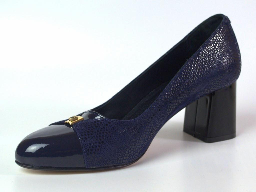 Туфли лодочкаженская обувь Pyra V Gold BS Blu Lether by Rosso Avangard кожаные черные