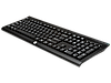 Клавиатура беспроводная USB HP K2500 Wireless (E5E78AA) мембранная, черная