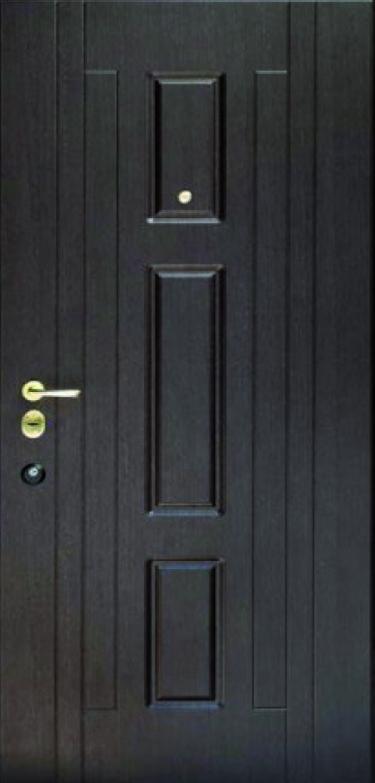 Двері квартирні, модель 171 Комфорт, коробка 110 мм, замки KALE, 970*2050, 3 контури ущільнення, глухі