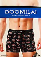 Труси чоловічі боксери бавовна + бамбук DOOMILAI розмір XL-4XL(48-54) 01101