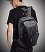 Рюкзак мужской Meilun Серый, фото 9