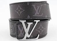 Ремень кожаный женский в стиле  Louis Vuitton Initiales ( Луи Витон)