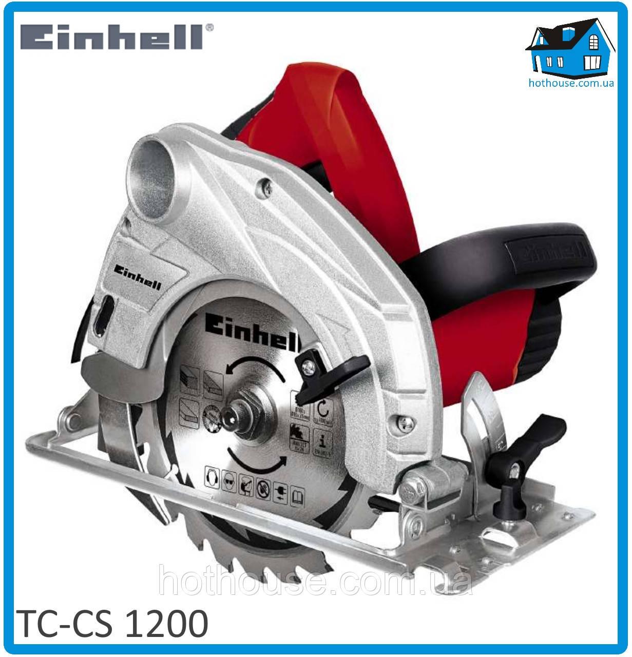 Пила циркулярная Einhell TC-CS 1200