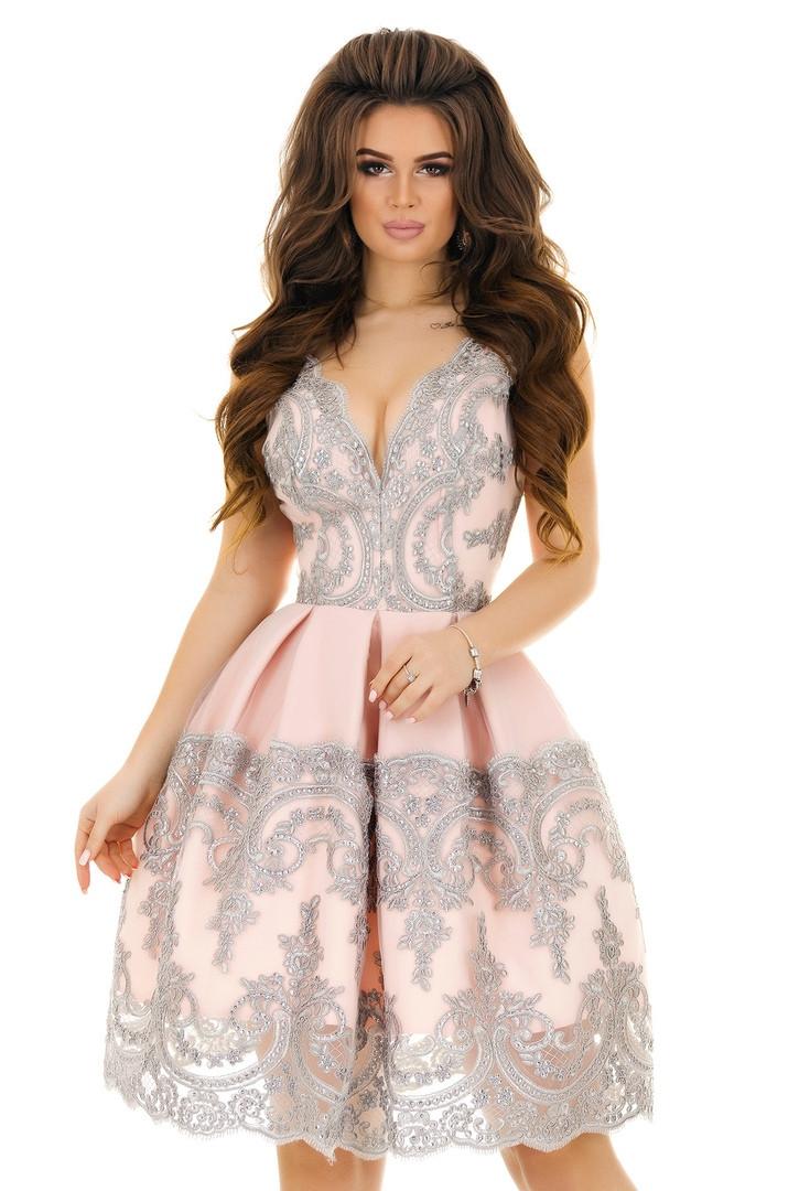 6d5ba3b4da6 Короткое платье с пышной юбкой на выпускной. нарядное пышное платье.  коротке плаття на випускний