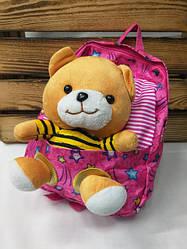 Плюшевые и тканевые детские рюкзаки