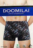 Трусы мужские боксёры бамбук DOOMILAI размер XL-4XL(48-54)  01026