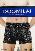 Трусы мужские боксёры бамбук DOOMILAI размер XL-4XL(48-54)  01027