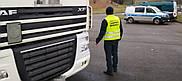 Інспектори ITD затримали водія вантажівки з підробленими документами.