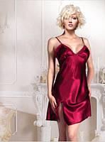 Элегантная ночная сорочка на тонких бретелях s-m,m-l,L-Xl, фото 1